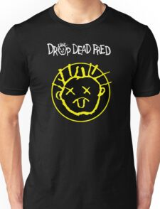 Drop Dead Fred Smiley Face Unisex T-Shirt