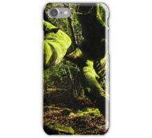 Tree Covered in Moss iPhone Case/Skin