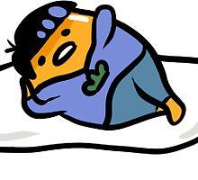 Karatama the lazy matsu by aigistone