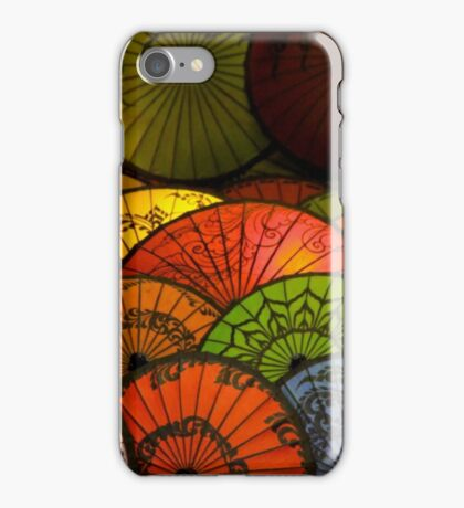 Japanese Umbrellas iPhone Case/Skin