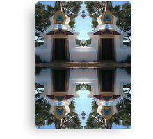 Buddhist Retreat Canvas Print