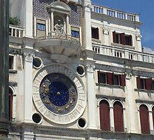 Zodiac Clock  by emmalevovna
