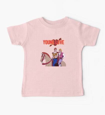 Young Love (He-Man and Bow) Baby Tee