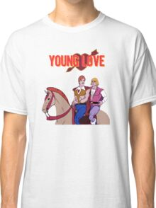 Young Love (He-Man and Bow) Classic T-Shirt