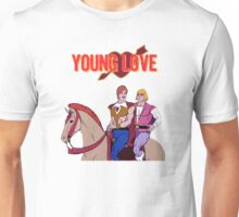 Young Love (He-Man and Bow) Unisex T-Shirt