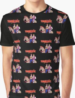 Young Love (He-Man and Bow) Graphic T-Shirt