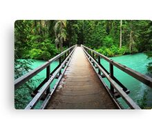 A Bridge to Peace Canvas Print