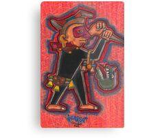 Aztec Guard Metal Print