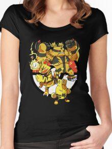 Elecfamz Women's Fitted Scoop T-Shirt