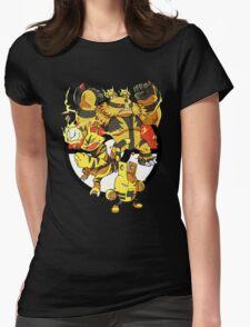 Elecfamz Womens Fitted T-Shirt