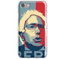 Bernie Sanders - Bern (Off White Hair) iPhone Case/Skin