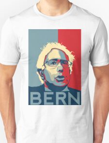 Bernie Sanders - Bern (Off White Hair) Unisex T-Shirt