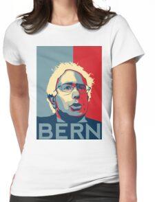 Bernie Sanders - Bern (Off White Hair) Womens Fitted T-Shirt