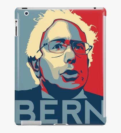 Bernie Sanders - Bern (Off White Hair) iPad Case/Skin