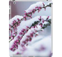 Winter Flowers iPad Case/Skin