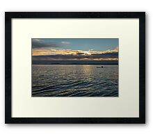 Tranquil Paddle Framed Print