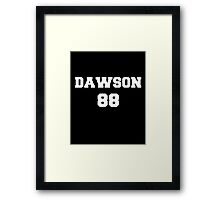 dawson 88 Framed Print