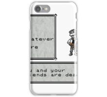 Red Dead iPhone Case/Skin