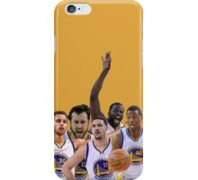 Golden State Warriors Starters iPhone Case/Skin