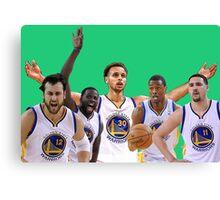 Golden State Warriors Starters Canvas Print