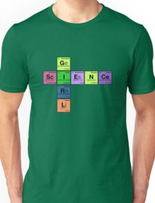 SCIENCE GIRL - Periodic Elements Scramble! Unisex T-Shirt
