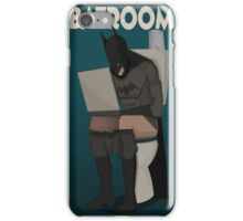BATROOM iPhone Case/Skin