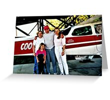 """Flyin' the Country Skys of Cousin Cooter""... prints and products Greeting Card"