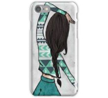 Best Friends Girls A  iPhone Case/Skin