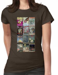 Raygun Gothic Womens Fitted T-Shirt