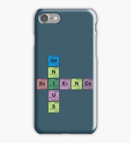 SCIENCE GENIUS! Periodic Table Scrabble iPhone Case/Skin