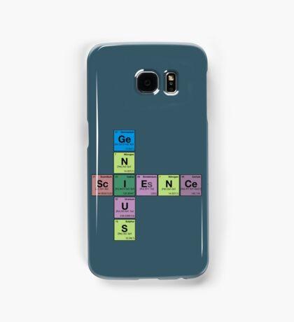 SCIENCE GENIUS! Periodic Table Scrabble Samsung Galaxy Case/Skin