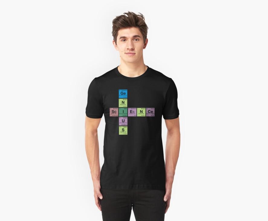 SCIENCE GENIUS! Periodic Table Scrabble by dennis william gaylor