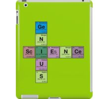 SCIENCE GENIUS! Periodic Table Scrabble iPad Case/Skin
