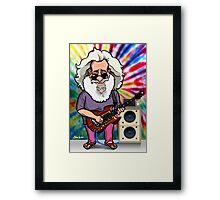 Jerry Garcia (The Grateful Dead) Framed Print