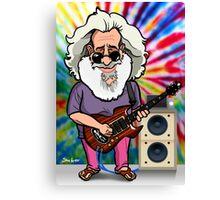 Jerry Garcia (The Grateful Dead) Canvas Print
