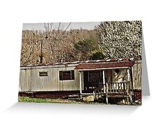 """Bubba's Summer Cottage ""... prints and products Greeting Card"