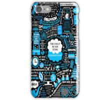 Black Okay Okay The Fault In Our Stars John Green  iPhone Case/Skin