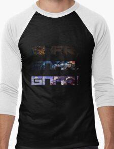 Gnar, Gnar, Gnar (Skins) Men's Baseball ¾ T-Shirt