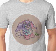 Bunny Slippers (morning) Unisex T-Shirt