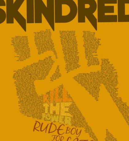 Skindred - Lyric Art Sticker