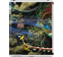 The History of the Bioluminoidal Fractalization Process iPad Case/Skin