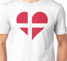 A heart for Denmark Unisex T-Shirt