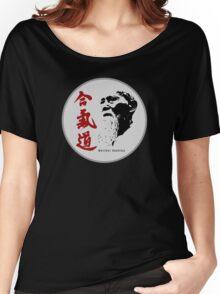 Aikido - Morihei Ueshiba Women's Relaxed Fit T-Shirt