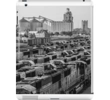 Trains and Elevator iPad Case/Skin