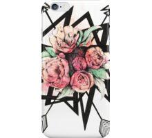 Floral shapes iPhone Case/Skin