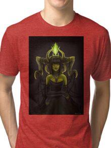 goth fantasy girl Tri-blend T-Shirt