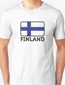 National Flag of Finland Unisex T-Shirt
