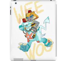 Wee Woo! Dragoturkey Police iPad Case/Skin