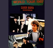 Vintage Duran Duran World Tour 1987 by jebrak Unisex T-Shirt