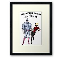 The Duo Together Framed Print